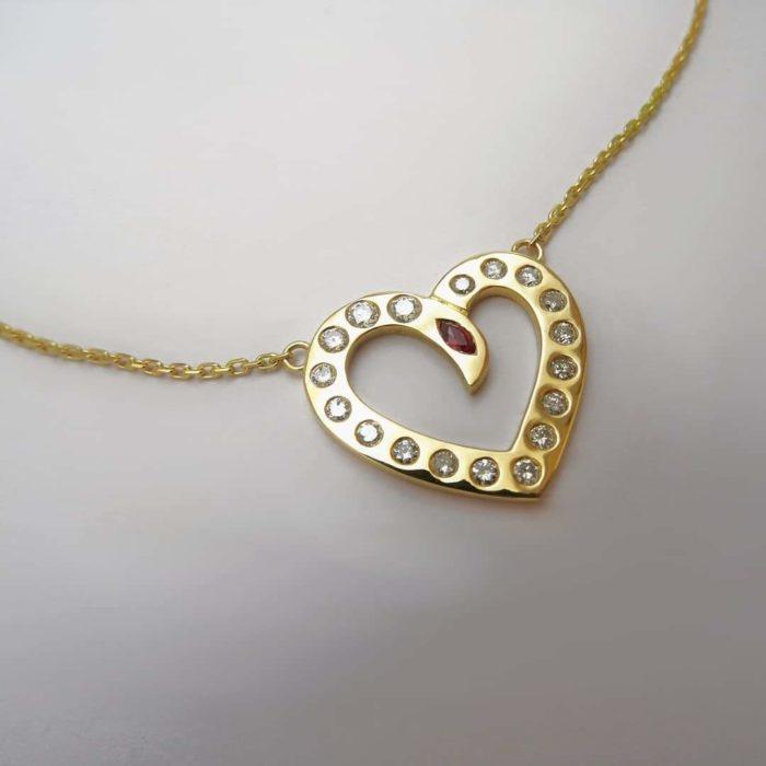 Collier cœur
